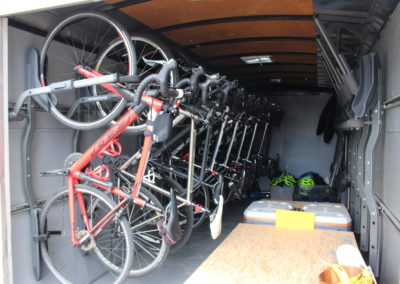 1. How we transport your bikes
